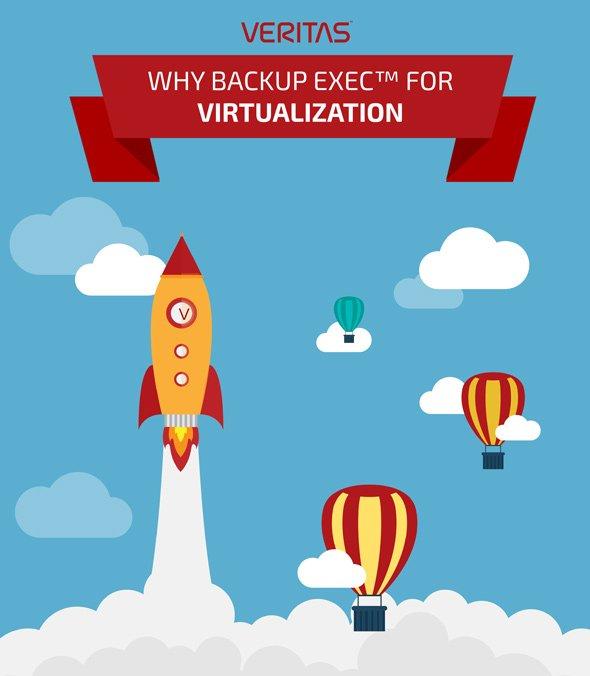 Backup exec, solução de backup para virtualização