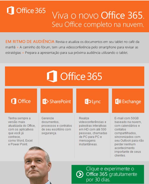 Viva o novo Office 365 e atualize seus documentos em qualquer lugar