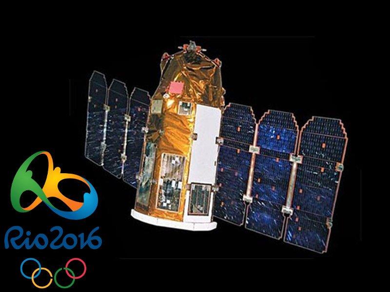 Satélite para segurança dos Jogos Rio 2016 já está operacional