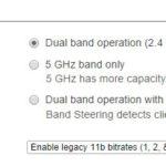 Configuração de banda de uso wireless, cisco meraki
