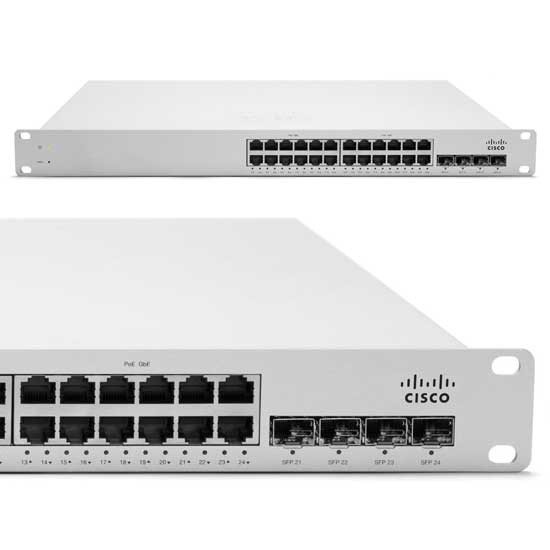 Cisco Meraki MS220-24P: Um switch configurado e gerenciado via cloud