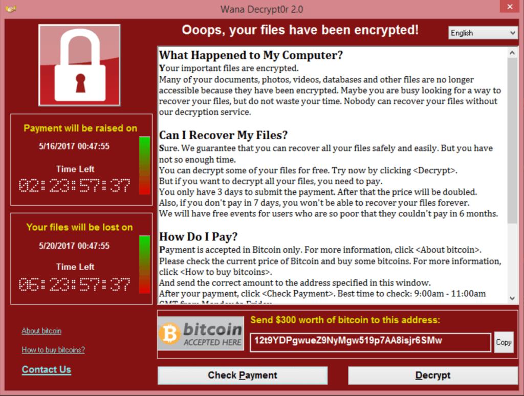 Você está protegido contra o WannaCry?