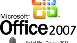 fim do suporte para pacote Microsoft Office 2007