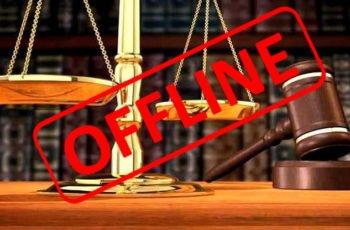 Escritório de advocacia indisponível